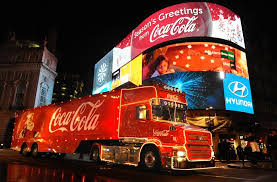 Call to ban the Coca-Cola truck from English city because of an 'obesity epidemic'